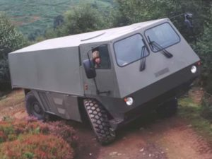 Multidrive Vehicles LTD - Future Combat Vehicle Being Driven By A Solider