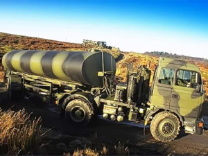 Multidrive Millitary Camoflague Water and Fuel Tanker